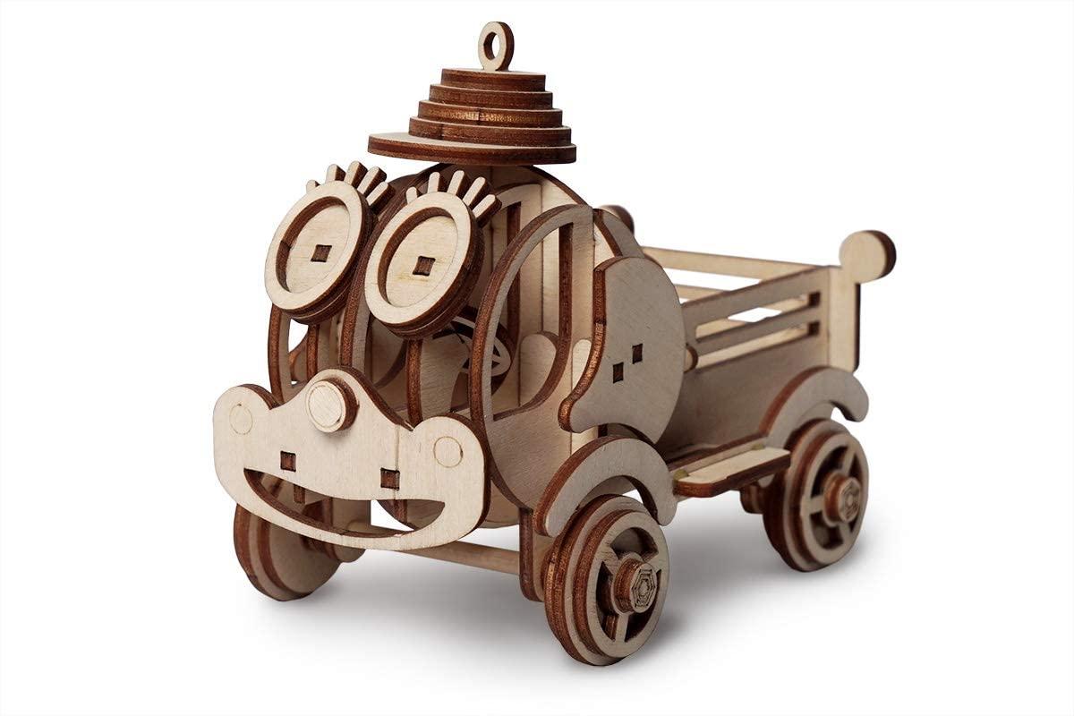 Lemmo Wooden Constructor Model Little Tip Truck STEPA