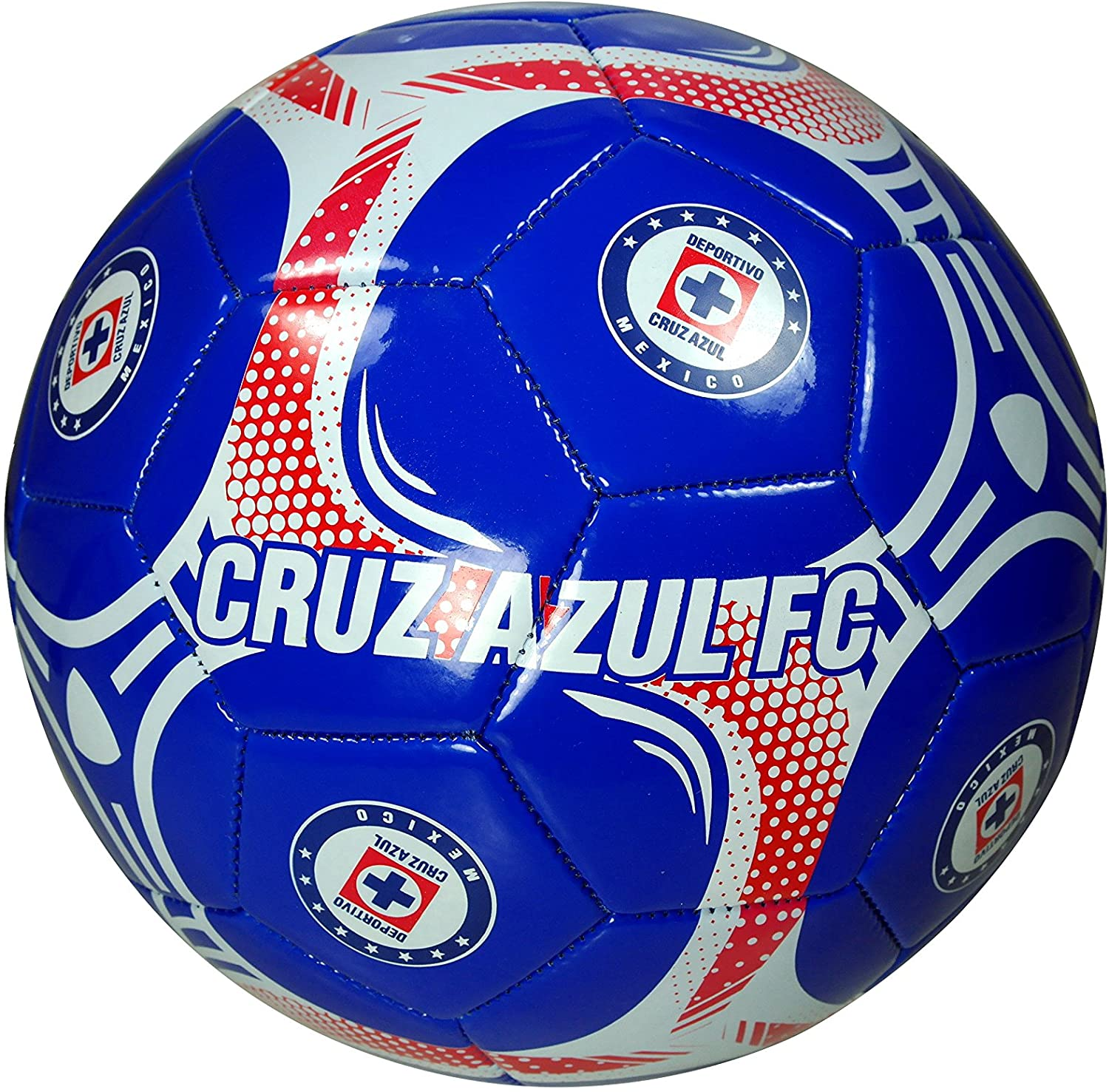 Cruz Azul Authentic Official Licensed Soccer Ball Size 5-02-3