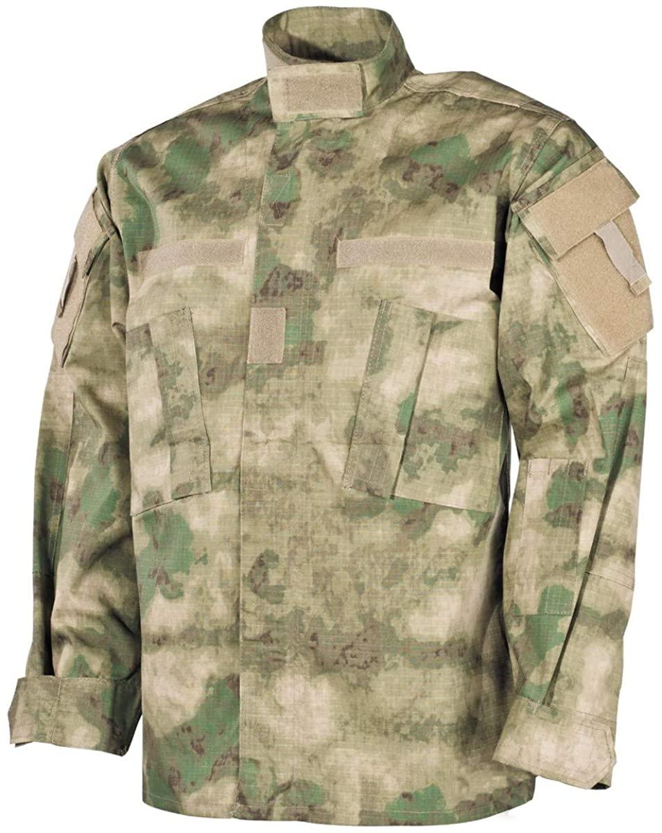 MFH Men's US ACU Ripstop Field Jacket HDT Camo FG