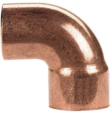 Mueller Streamline 1 in. Sweat x 1 in. Dia. Sweat Copper Street Elbow - Case of: 1;