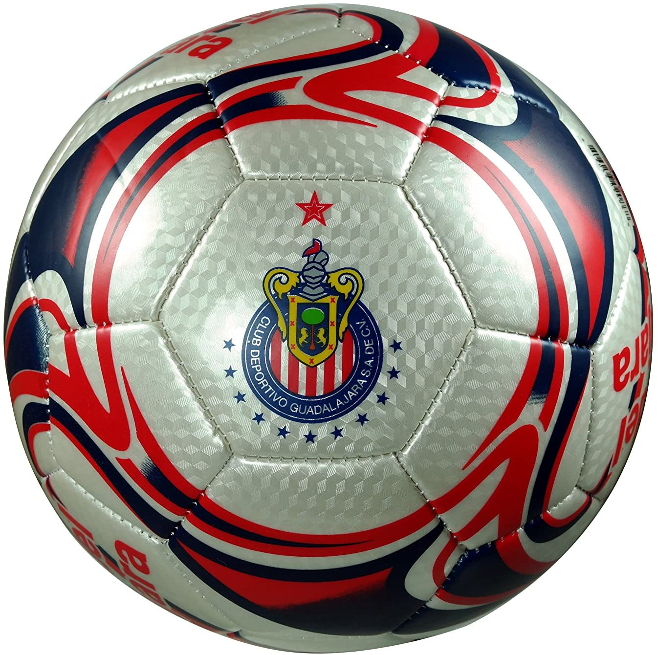 Chivas De Guadalajara Authentic Official Licensed Soccer Ball Size 5-02-2