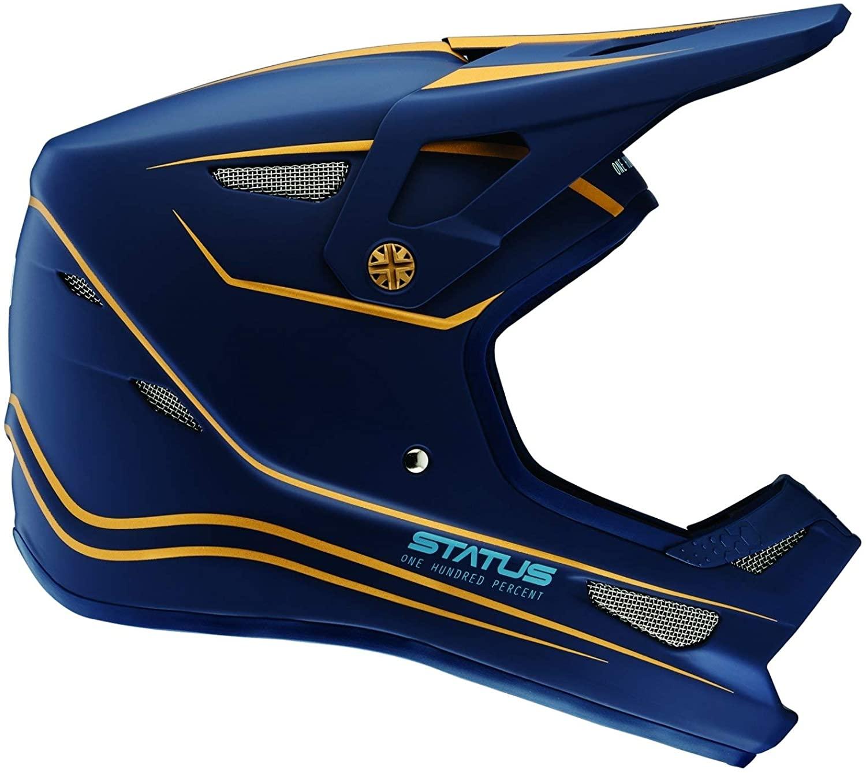 100% Status Bike Helmet Ltd Navy Small