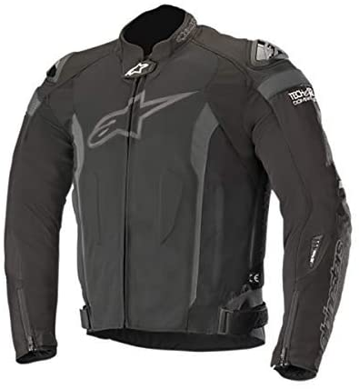 Alpinestars Men's T-Missile Air Motorcycle Jacket Tech-Air Compatible, Black/Black, Medium