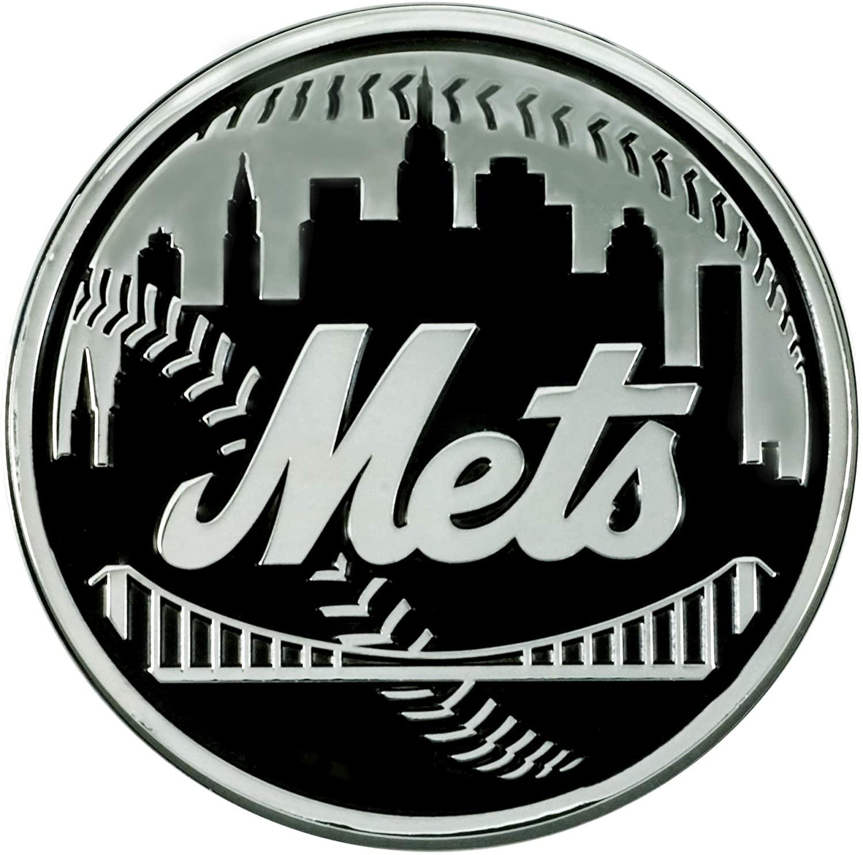 FANMATS 26653 MLB - New York Mets Chrome Emblem