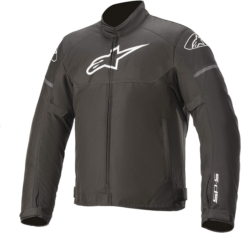 Alpinestars Men's T-SP S Waterproof Motorcycle Jacket, Black, X-Large