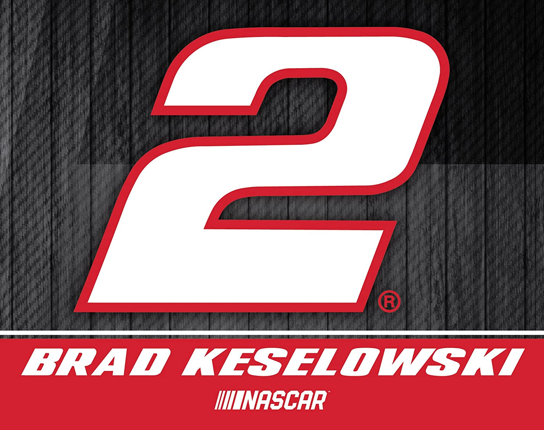 R and R Imports Brad Keselowski #2 Nascar 5x6 Inch Decal Single