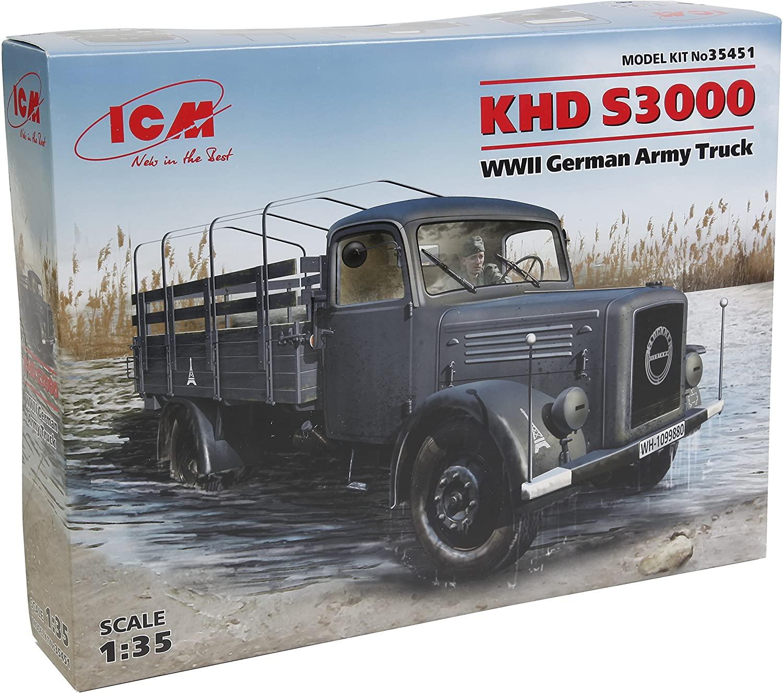 ICM Models 1/35 KHD S3000 WWII German Army Truck