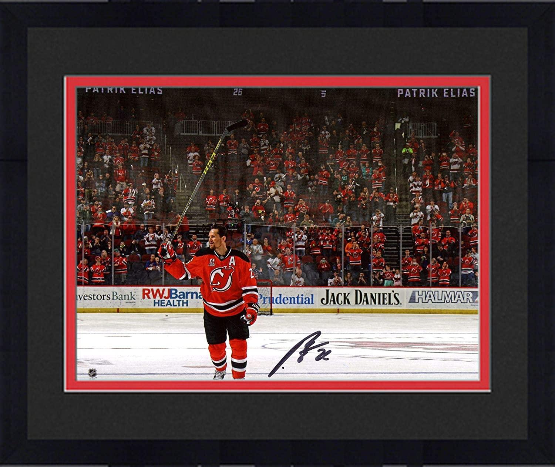 Framed Patrik Elias New Jersey Devils Autographed 8