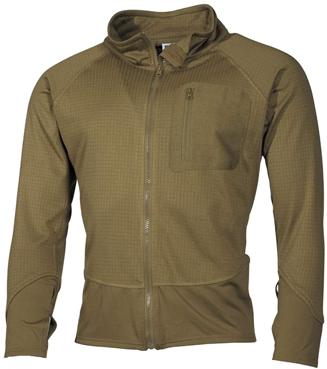 MFH Men's US Tactical Soft Shell Jacket Coyote