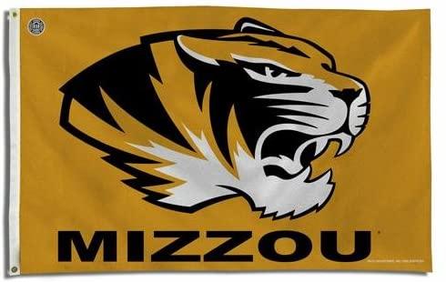 Missouri Tigers NCAA 3x5 Flag