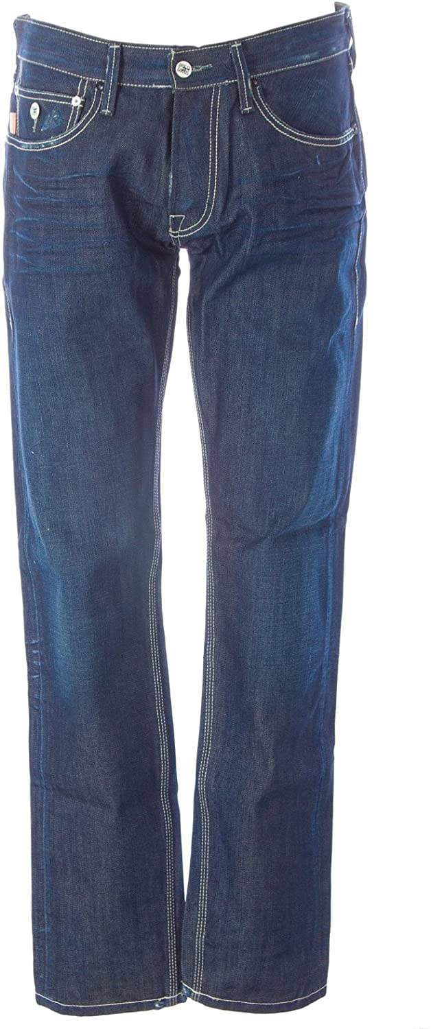 Blue Blood Men's Focus Denim Button Fly Jeans