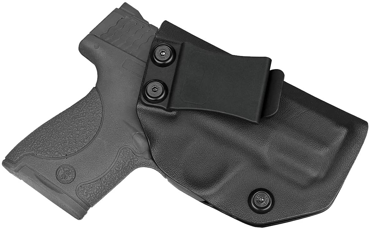 S&W M&P Shield 9mm IWB Kydex Holster Fits Smith and Wesson M&P Shield 9mm/.40 and Shield M2.0 9mm/.40 (3.1
