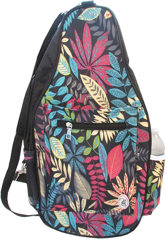 Pickleball Marketplace Ladies Printed Pickleball Sling Bag - Multi-Color Design -