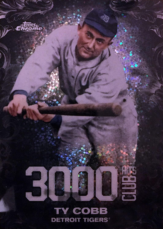 2016 Topps Chrome Update 3000 Hits Club #3000C-2 Ty Cobb