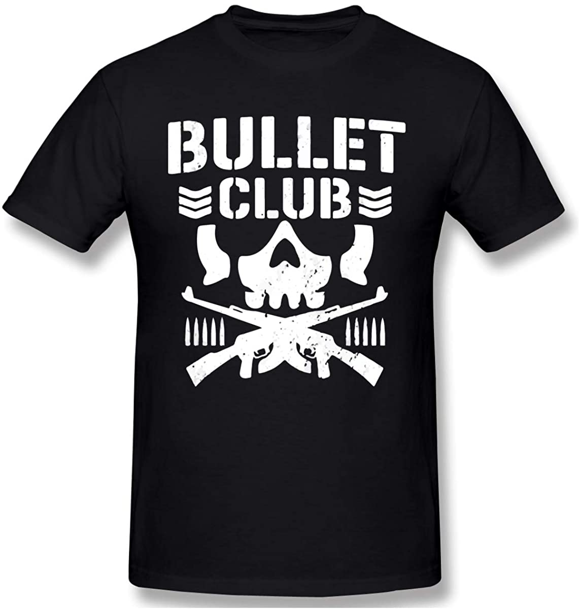 Men's Vintage Club of Bullet Graphic Shirts for Men Novelty Idea Casual Short Sleeve T-Shirt
