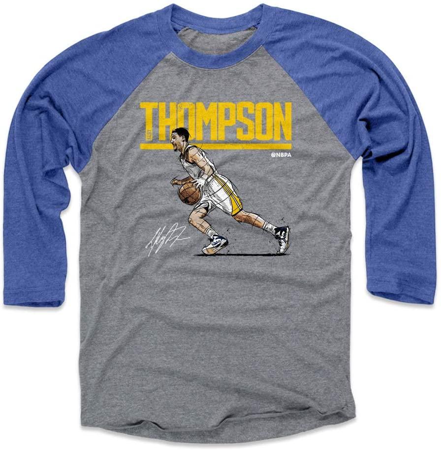 500 LEVEL Klay Thompson Shirt - Golden State Basketball Raglan Tee - Klay Thompson Hyper