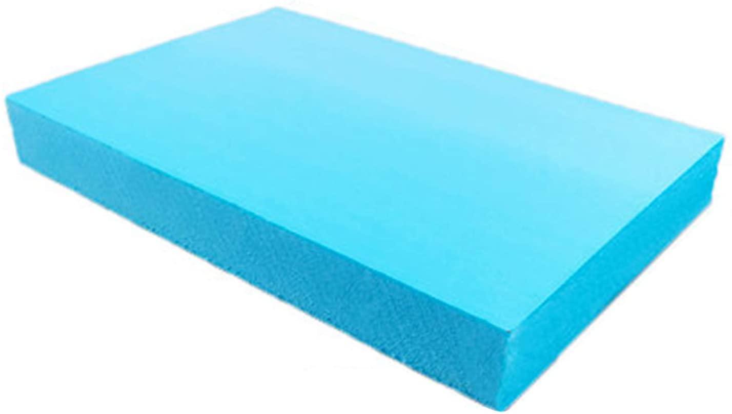 MHUI Foam Board Foam Rectangle,Sand Table Scene Material Blue Arts and Crafts Supplies 40cmx30cmx4cm