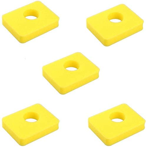 Replaces 799579 Air Filter Fit for 300e 450e 500e Series 08P502 09P602 09P702 Lawn Mower Engines Replace 5434 4248 Oregon 30-183 Stens 102-573 (5 Pack)