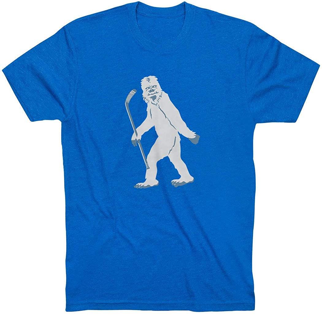 Short Sleeve Yeti Adult T-Shirt | Hockey Tees | Multiple Colors | Adult Sizes