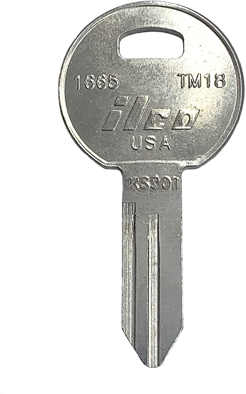 Ilco Trimark KS301 TM18 Key Blank (10 pack)
