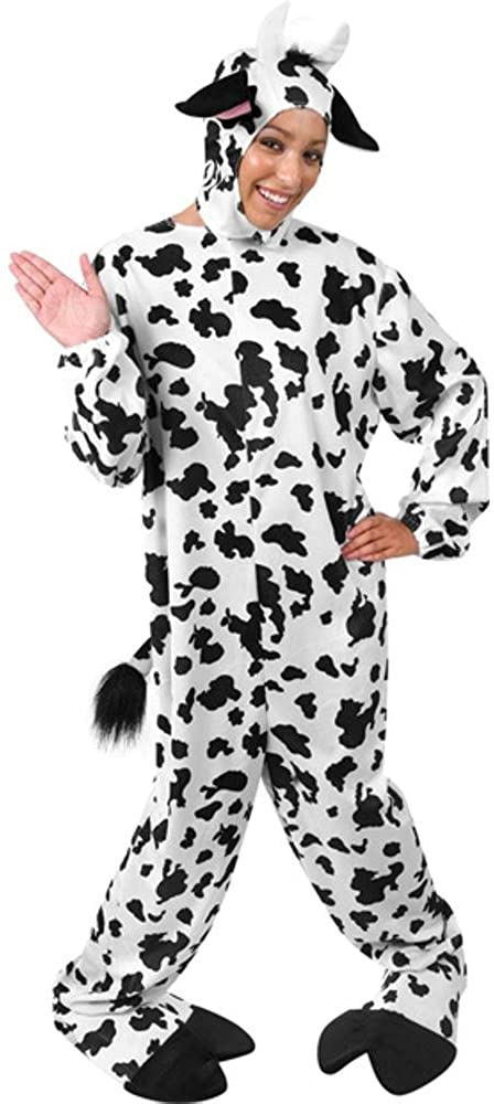 Adult Classic Cow Halloween Costume (Size: Standard 44)