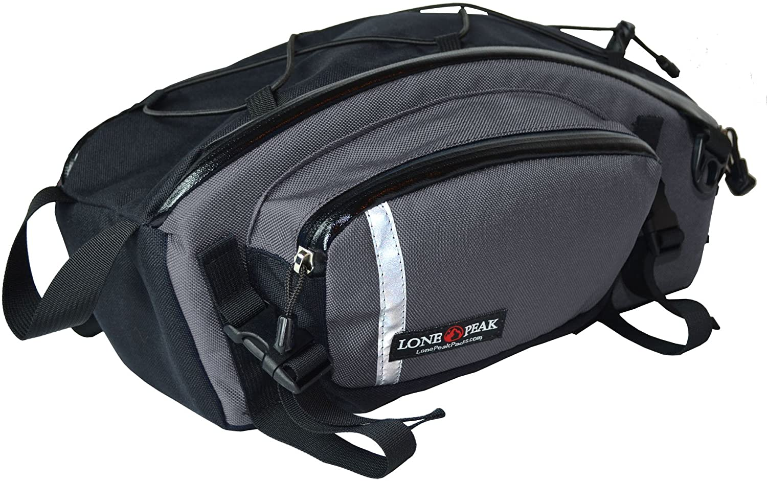Lone Peak Swayback Bicycle Rear Rack Pack Bag