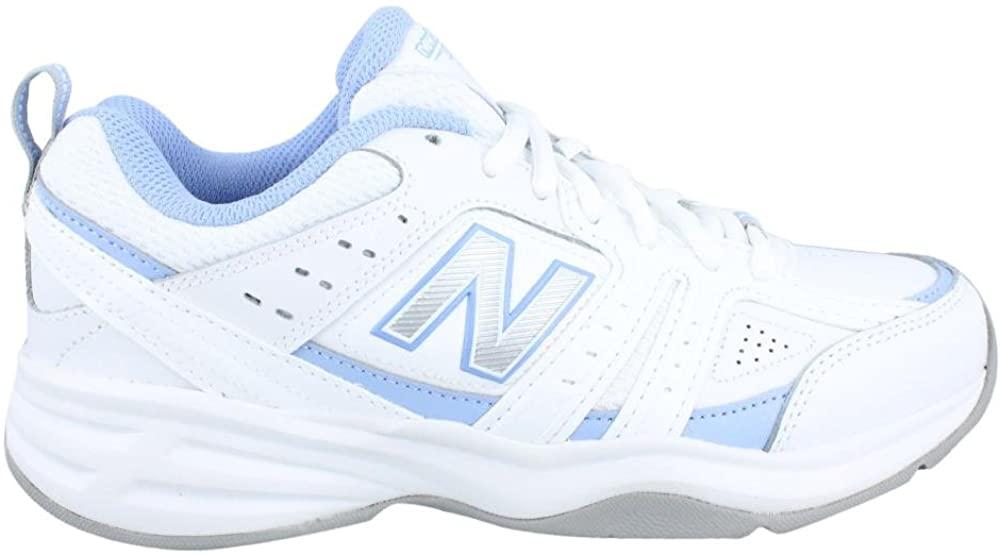 New Balance Women's, 401v2 Crosstraining Sneaker White Blue 11 B