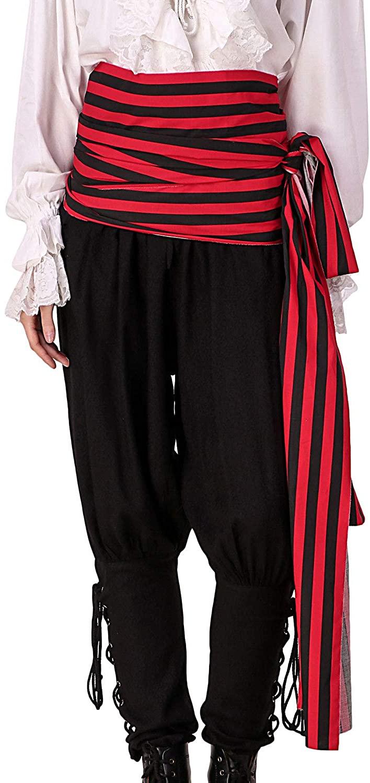 ThePirateDressing Pirate Medieval Renaissance Halloween Costume Large Sash