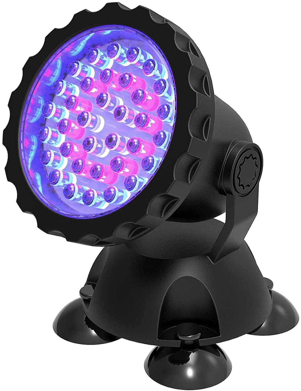 ZHG Pond Lights Underwater Fountain Light 3.5W Color Changing Submersible Spotlight with 36-LED Bulbs Underwater Light Waterproof IP68 Spot Light for Pond Aqaurium Garden Fish Tank