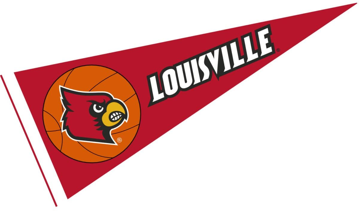 College Flags & Banners Co. Louisville Cardinals Basketball Pennant