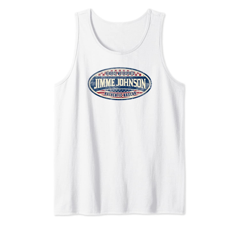 NASCAR - Jimmie Johnson - Vintage Tank Top