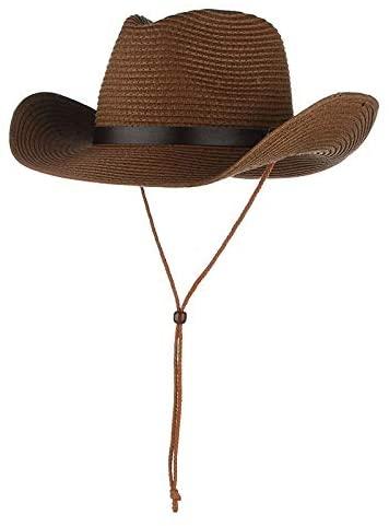 Straw Hat Sun Hat Sun Protection Summer Men's Foldable Outdoor Beach Hat Big Brim