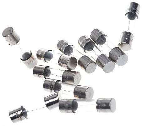 BLUECELL pack of 10 pcs F10AL Fast-Blow Fuse 10A 250V Glass Fuses 5 x 20 mm (10A)
