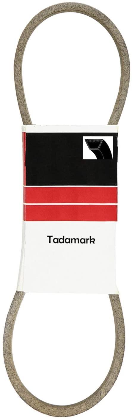 TadaMark Replacement Kevlar Belt for Cub Cadet 754-04165 954-04165 754-04062 954-04062 754-0461 Simplicity 108508 MTD 754-04062 942-04062 754-0461 AYP 131264 532131264 Husqvarna 532131264; 1/2