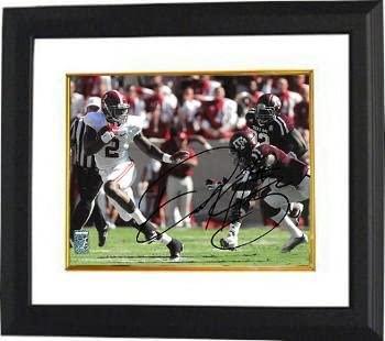 Derrick Henry signed Alabama Crimson Tide 11X14 Photo Custom Framing #2 - Henry Hologram - Autographed College Photos