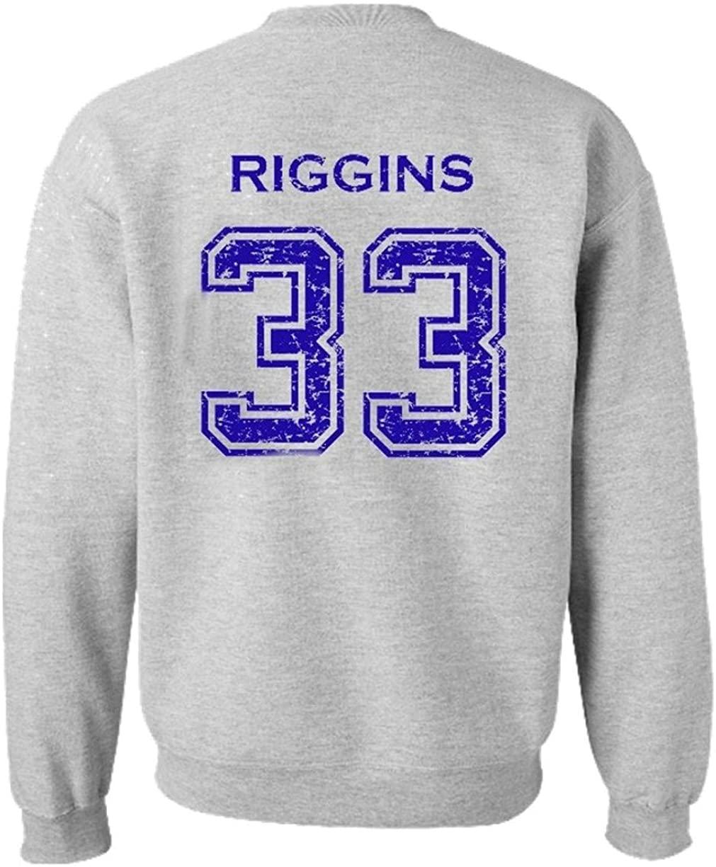 Adult Dillon Panthers Football Riggins 33 Crewneck Sweatshirt