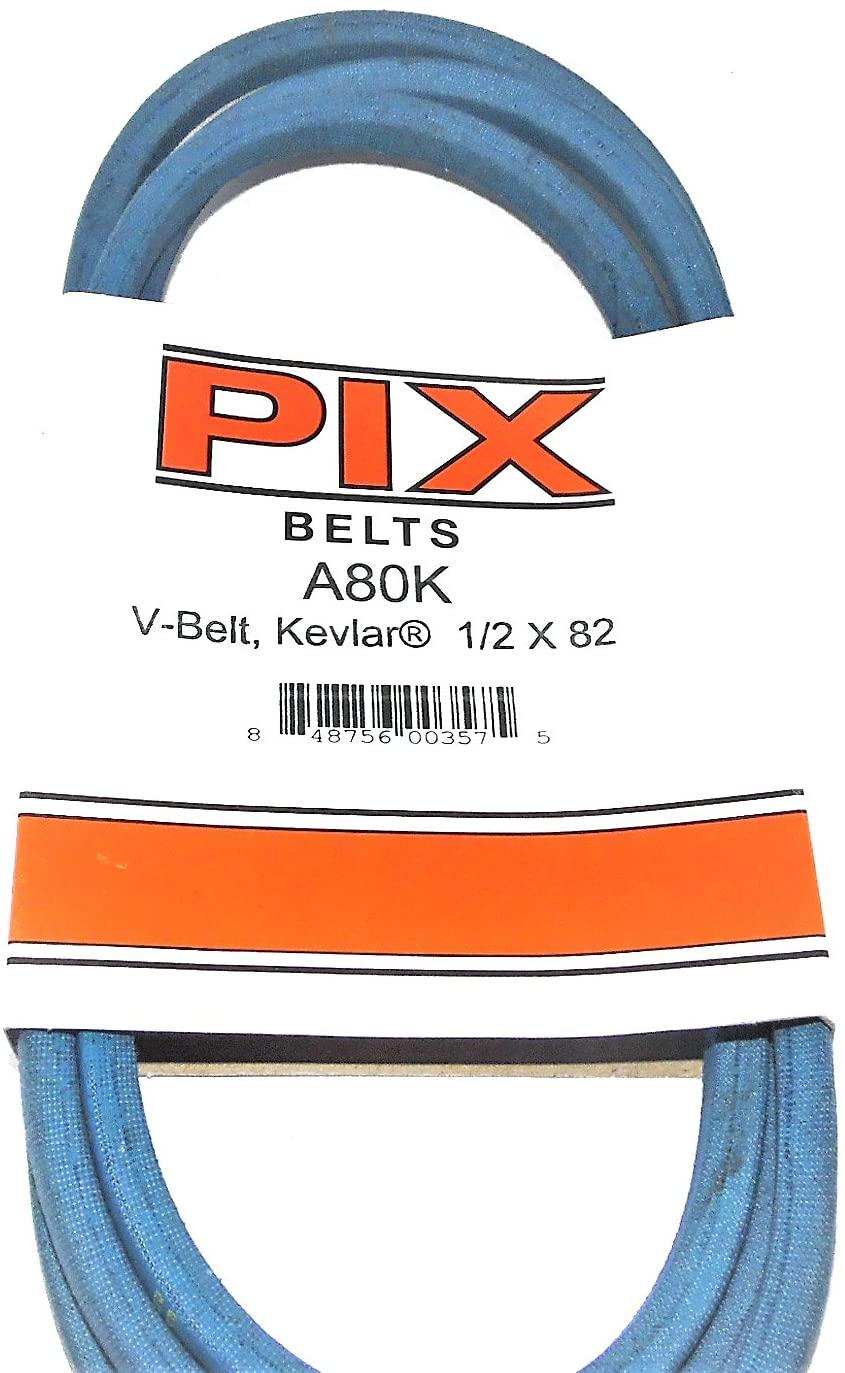 Pix Kevlar V Belt Size A80K 1/2 x 82 in OC