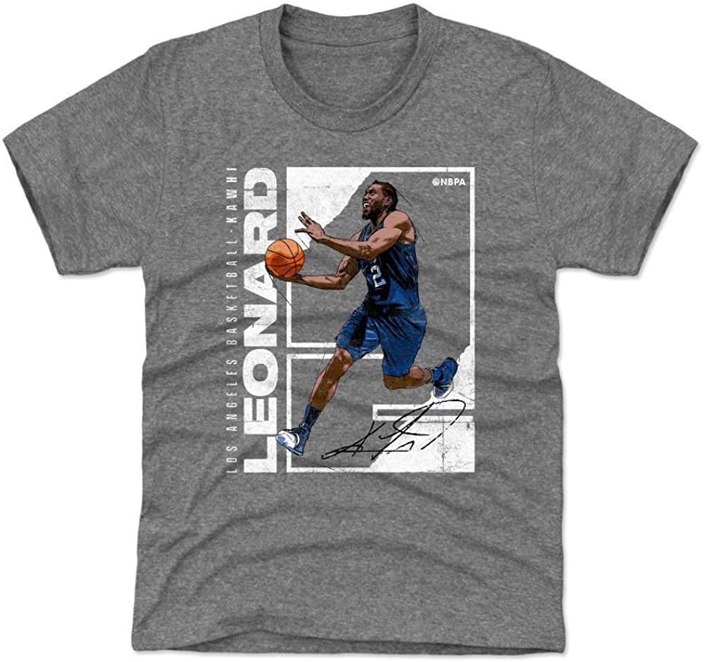 500 LEVEL Kawhi Leonard Los Angeles Basketball Kids Shirt - Kawhi Leonard Stretch