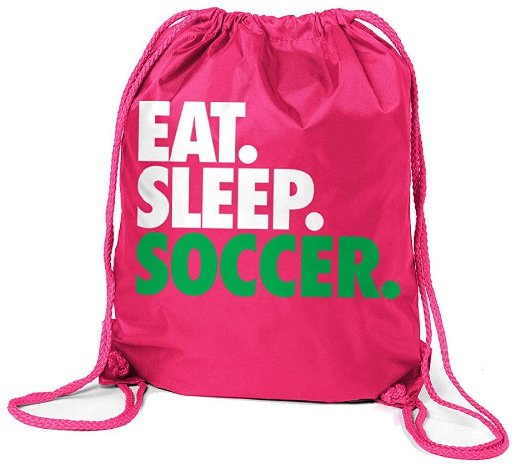 Soccer Sport Pack Cinch Sack | Eat Sleep Soccer