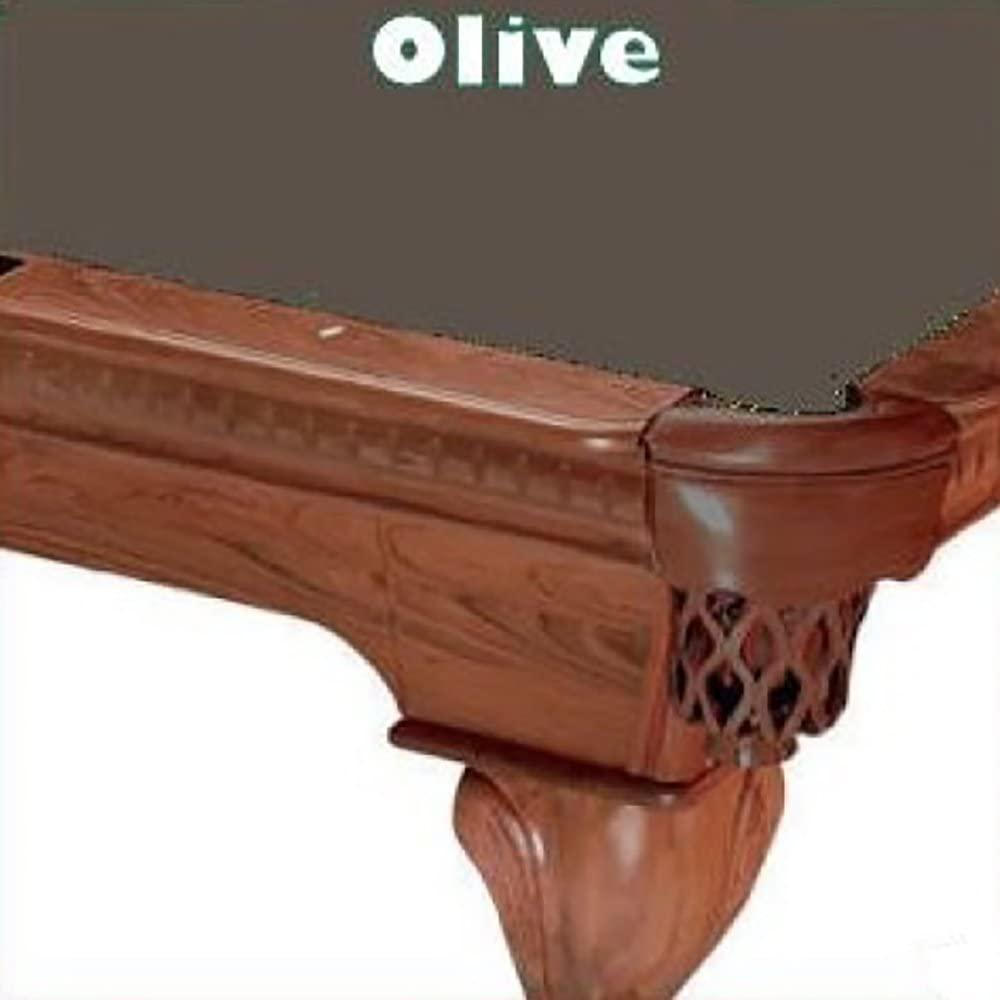 9' Olive ProLine Classic 303 Teflon Billiard Pool Table Cloth Felt