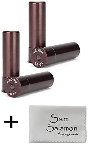 A-ZOOM 20 Gauge Precision Snap Cap (2 pcs per Pack (4 pcs Total)) w/Micro Sam Salamon Cloth