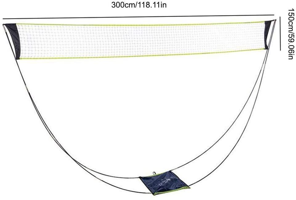 Badminton Net Portable Outdoor Sports Badminton Net Removable Badminton Net Set