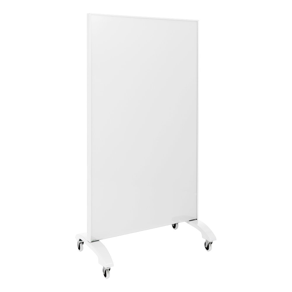 Learniture Double-Sided Magnetic Tempered Glass Partition, 36