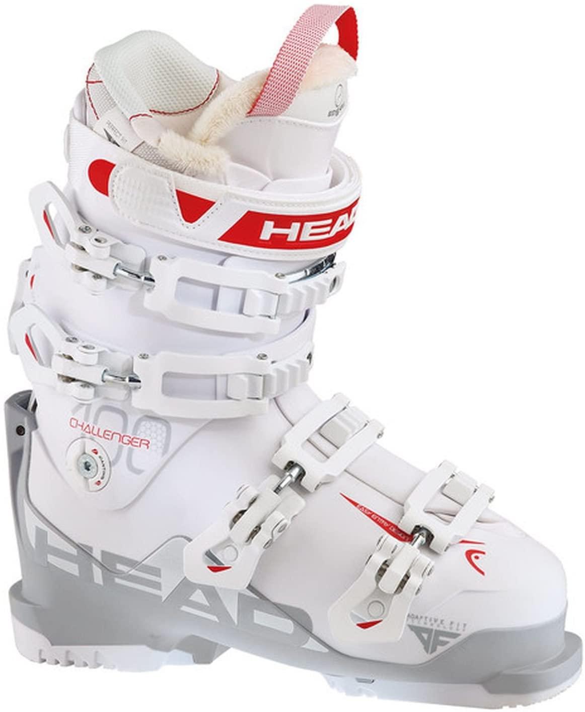 2015-16 Head Challenger 100 Womens Ski Boots Mondo 24.5 Women's 7.5