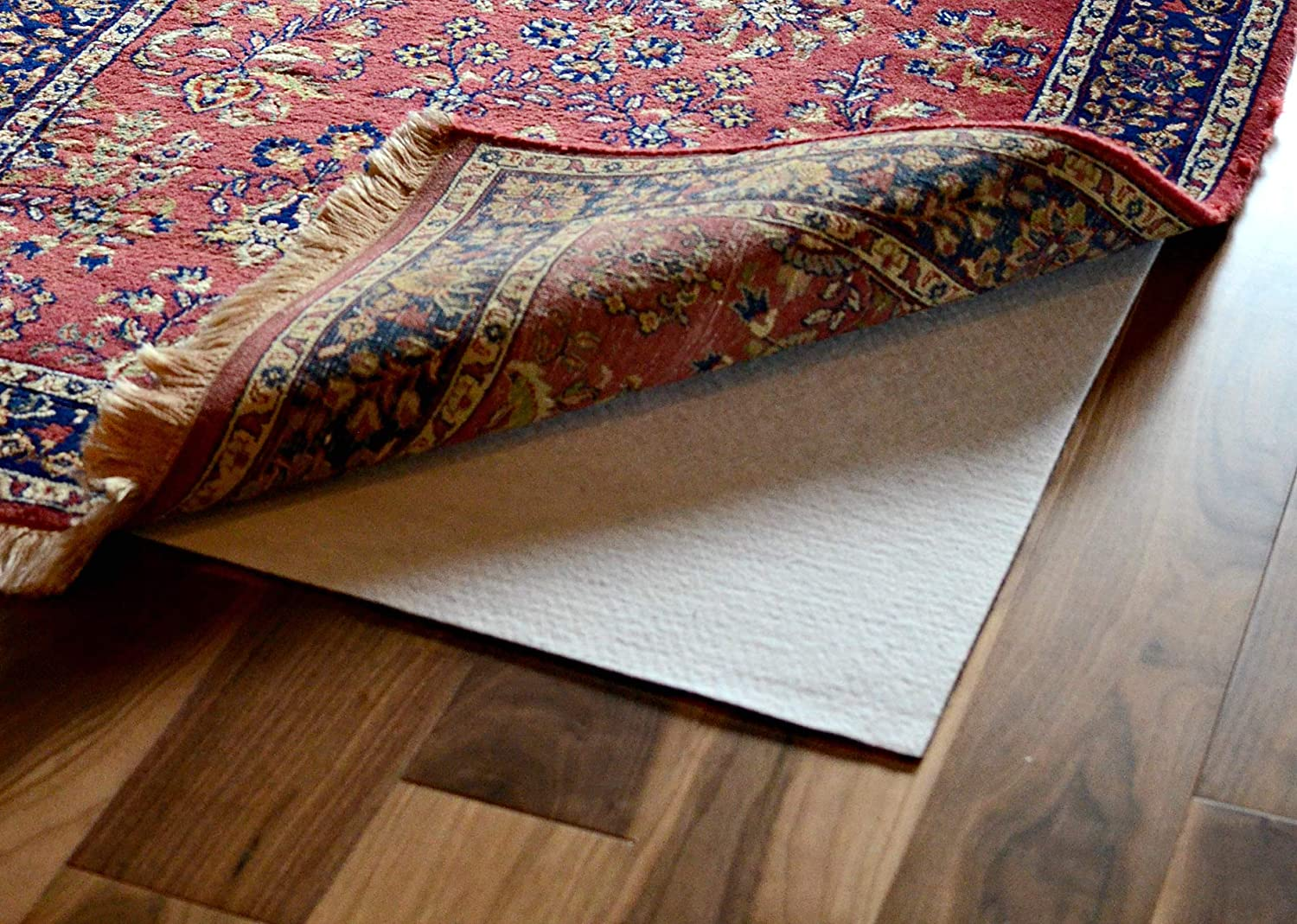 Hold-a-Rug 10 x 14 Nonskid, Nonslip Rug Pad, 1/8 Thick, Safe for All Floors and Carpet