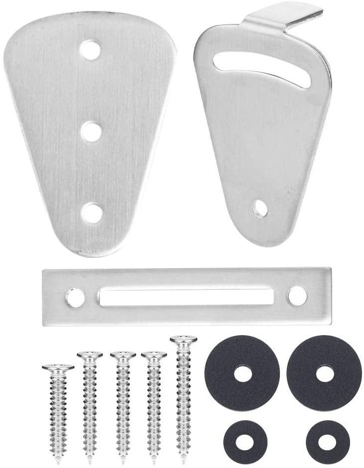 Rockyin Stainless Steel Sturdy Door Lock Hardware Accessories for Barn Hanging Rail Sliding Door