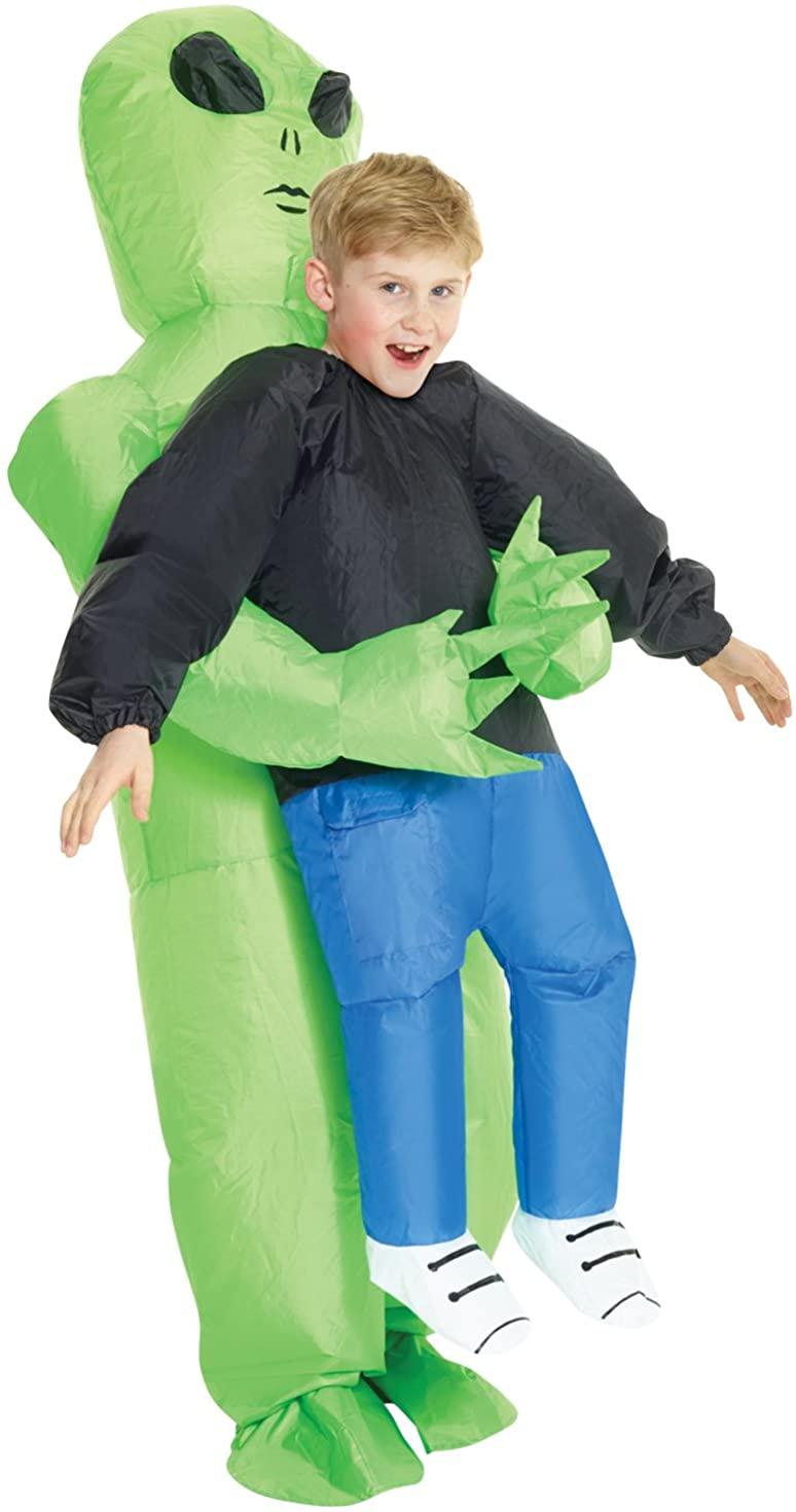 Morph Kids Alien Pick Me Up Inflatable Costume
