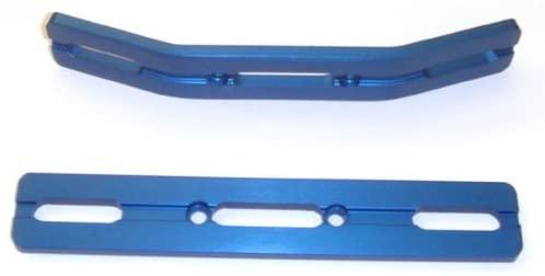 E-Revo Blue Anodized Aluminum Bumper Set by RC Raven