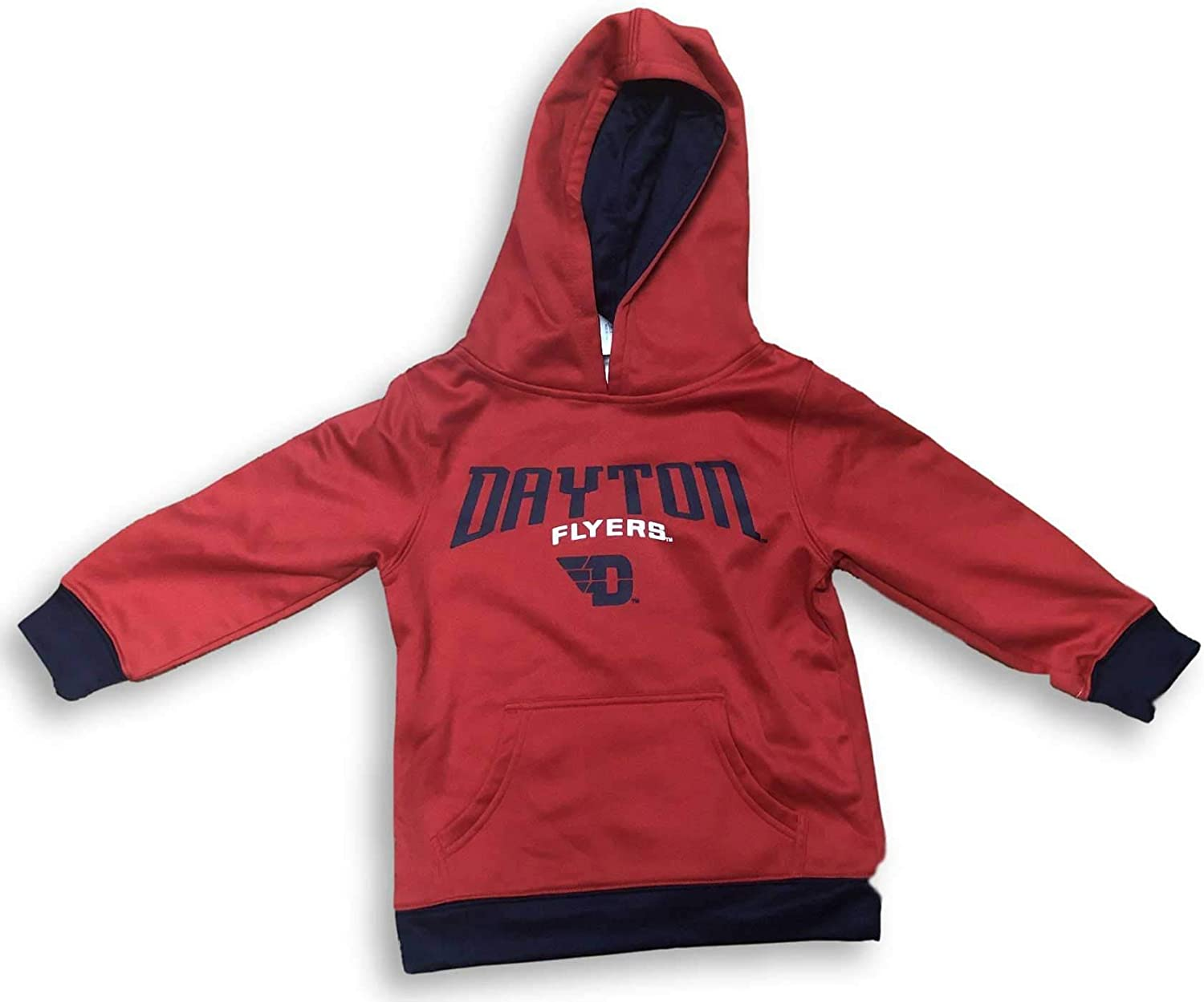 Rivalry Threads Dayton Flyers Dri Fit Cool Base Name Logo Youth Hoodie