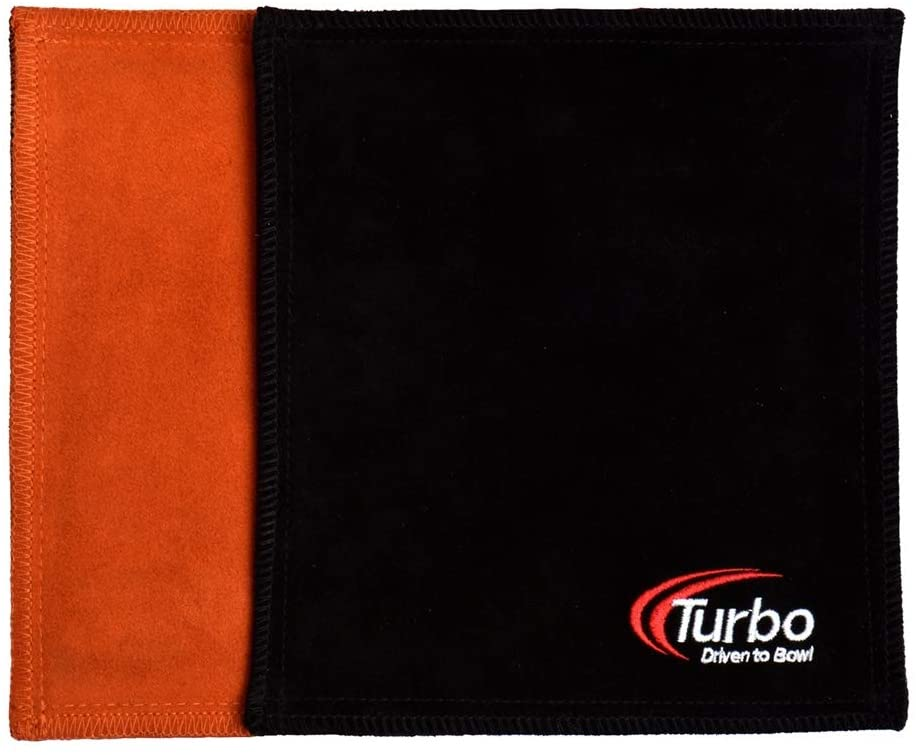 Turbo Dry Towel- Orange/Black
